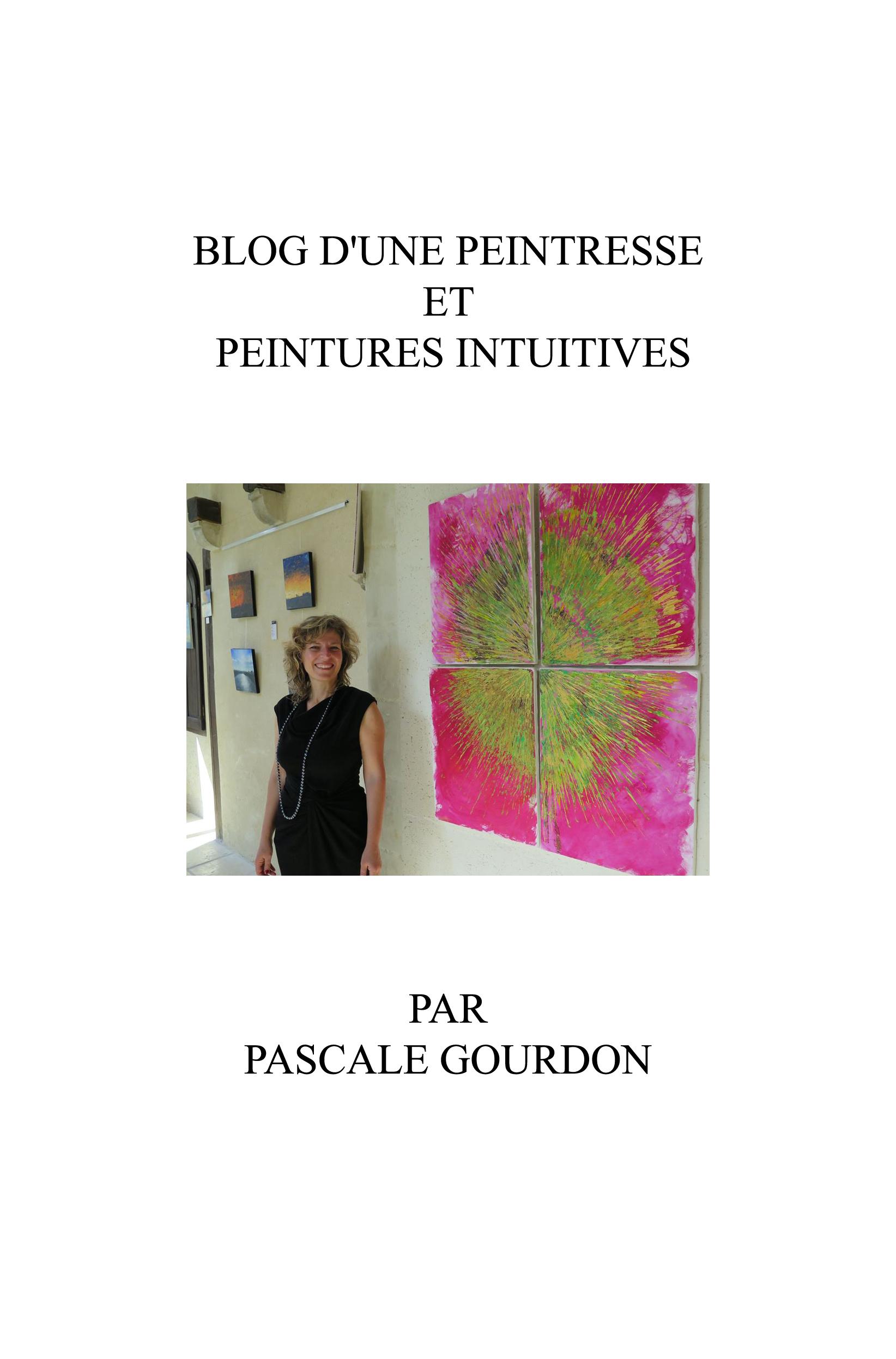 Couverture blog d`une peintresse